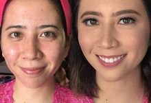 Makeup for Ms Angeline by JCL Makeup Artistry