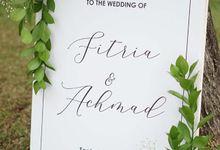 Fitria &Achmad wedding  1 september 2019 by Petunia Decor