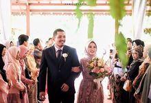 The Wedding of Ms. Hana and Mr. Rizky by Rumah Joglo Pandu