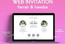 Wedding Invitation Farrah & Hendra by Hadiryaa (Web & Mobile Invitation)