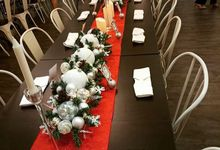 Christmas decor party by Petunia Decor