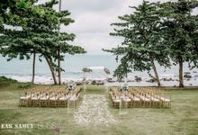 Priya and Nicholas wedding at Samujana Villas Koh Samui Thailand by BLISS Events & Weddings Thailand