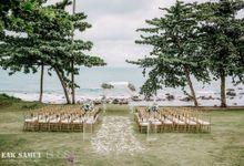 Priya and Nicholas wedding at Samujana Villas Koh Samui Thailand by BLISS Events & Weddings Thailand