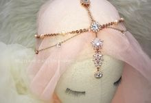 Bohemian Chain Hairpiece for Ms. Sylvia by Belle La_vie