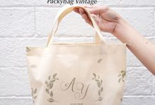 Totebag Mini spunbond // AYA WEDDING - JANUARI 19 by Packy Bag Vintage