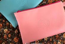 Zipper pouch for Lonika & Frans by Hey.souvenir