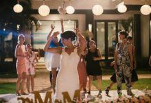 Felice and Brad Wedding by Delont Photoholic