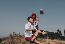 PREWEDDING OF DESSY & BANJAR by Velle Marry Photography