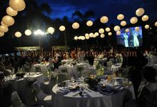 Daryl and Sylvie's Gala Dinner Wedding Reception by Bali Excellent Events
