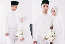 The solemnization ceremony of Alya & Amir by Hanif Fazalul Photography & Cinematography