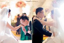 The Wedding  Of William & Fenny by thePhotograph