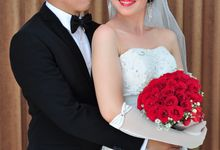 Donny & Sari Wedding day by claresta bridal
