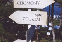Wedding Signage by CM Creative Concepts