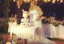 The Wedding Cake Of Kirk & Samantha by Moia Cake