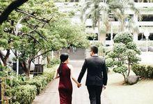 The Wedding of  Brandon & ivani by Jas-ku.com