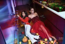 Luna Maya & Rozma suhardi  by Nina Nasution
