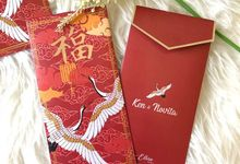 custom angpao by Ellora Design