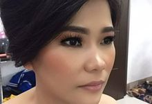 Sister Of The Brides by Desiliafu makeupartist