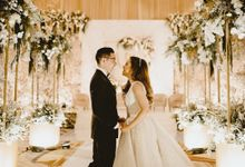 The Wedding of Mathieu & Vinella by Bloom Gift