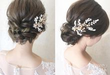 Bridal Hairstyle by Cang Ai Wedding