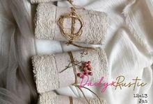 Souvenir Handuk Towel Favors by Rusticlatte