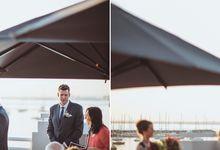 St Kilda Beach Wedding by Lightshell
