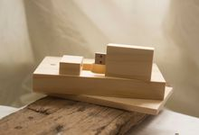 Wooden Usb with box by CIRIACO