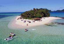Own Private Island For the Day Wedding Package by Nanuku Auberge Fiji Weddings