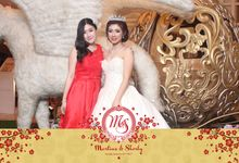 Martius & Sherly by Twotone Photobooth
