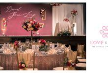 Celebrating David & Yean Ling by Love & Love Wedding Planner