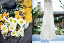 Sunshine outdoor wedding by SS Florist