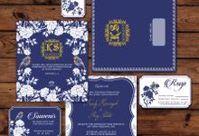 Blue Chinoiserie by Jolly's Little Dreams