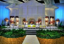 Beautiful Wedding Light of Nurina & Kenny by Etcetera Lighting