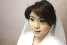 make up wedding with airbrush by Monica Han