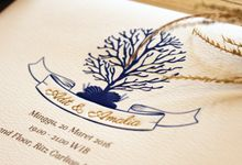 Adit & Amalia's Wedding Invitation by Premium Card