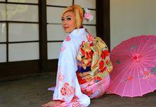 prewedding kimono yulia & kokoh by Foto Kimono