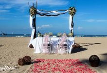 Wedding of Mr and Mrs Borcsock by Bali Yes Florist