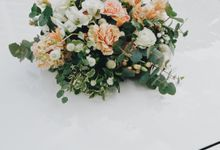 Bridal Car Florals by The Bloomish Eden