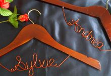 Personalized Hanger by Bellicimo by Béllicimo Personalized Hanger & Favors