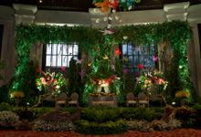 A Beautiful Garden Wedding by Suryo Decor