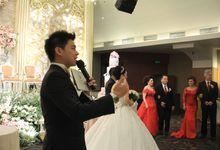 MC Wedding MDC Hall Wisma 76 Jakarta - Anthony Stevven by Anthony Stevven