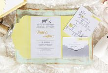 INVITATION - When Ox meets Rabbit by The Bride and Butter