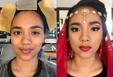 BEFORE & AFTER by May Dalumpines Makeup
