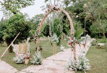 Dea & Rudy Wedding Decoration by Thebridewears