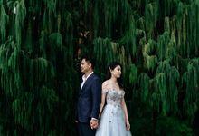 Natalie & Ernest's Pre-Wedding Shoot by Luxe Wardrobe