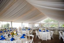 Tented Garden Pavilions by Open Aire Affairs