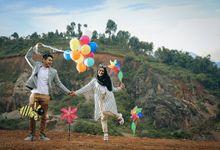 Prewedding Dewi-Valdy by 3ha Photo