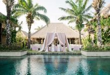 Whimsical Tropical Wedding at Stone House by Tirtha by Tirtha Bridal