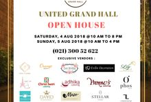 UNITED GRAND HALL OPEN HOUSE 2018 start from 4 - 5 Agustus 2018 by United Grand Hall