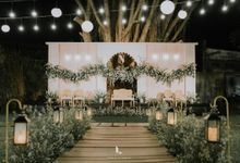 Wes Anderson Wedding Theme of of Nazura & Ichsan by Elior Design